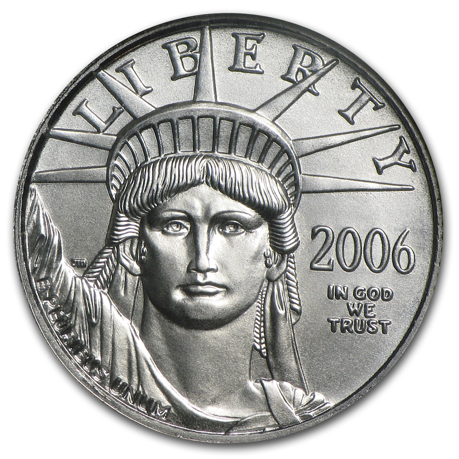 2006 1/10 oz Platinum American Eagle MS-70 NGC